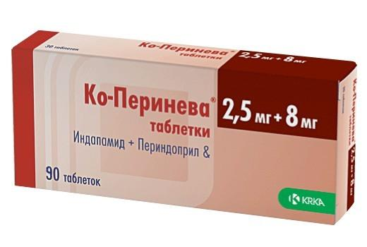 CO-PERINEVA 4 mg/1,25 mg tabletta